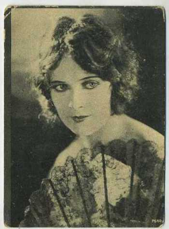 Jacqueline Logan 1924 Henry Clay and Bock Tobacco Card
