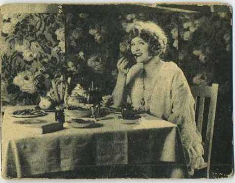 Mary Miles Minter 1924 Henry Clay and Bock Tobacco Card