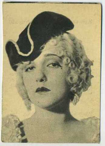 Bebe Daniels 1924 Henry Clay and Bock Tobacco Card