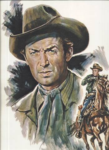 1973 Jimmy Stewart print from John Ford Cowboy Kings Collection