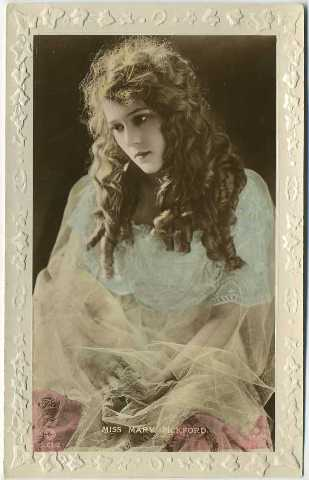 1910's Mary Pickford S Series Rotary Photograph Postcard