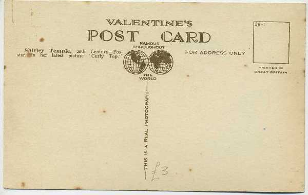 Valentines Postcards Photo Idenfication Pages brought to you by ...