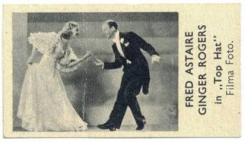 1935 Fred Astaire & Ginger Rogers Shirley's Gum Card
