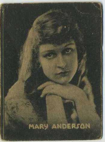 Mary Anderson - 1921 Henry Clay and Bock Tobacco Card
