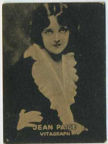 Jean Paige - 1921 Henry Clay and Bock Tobacco Card