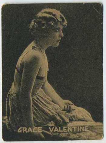 Grace Valentine - 1921 Henry Clay and Bock Tobacco Card