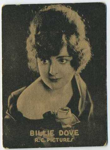 Billie Dove - 1921 Henry Clay and Bock Tobacco Card
