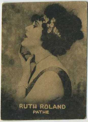 Ruth Roland - 1921 Henry Clay and Bock Tobacco Card