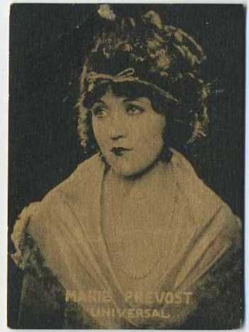 Marie Prevost - 1921 Henry Clay and Bock Tobacco Card