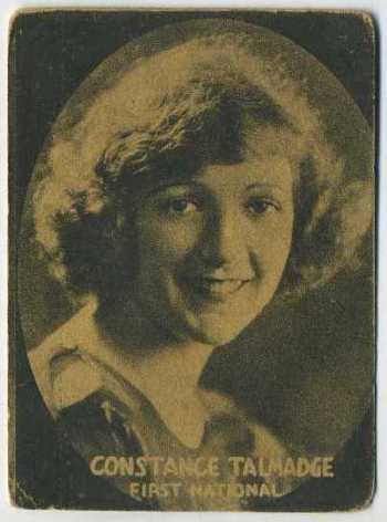 Constance Talmadge - 1921 Henry Clay and Bock Tobacco Card