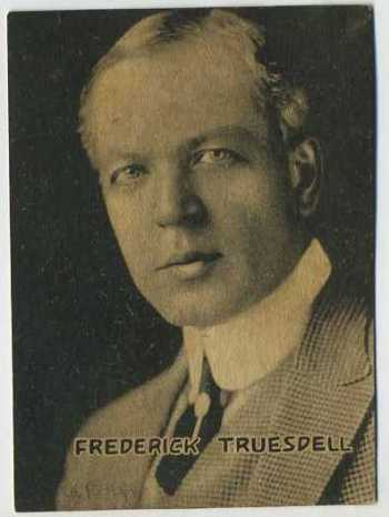 Frederick Truesdell - 1921 Henry Clay and Bock Tobacco Card