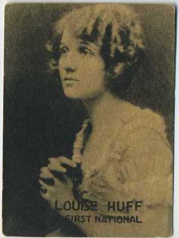 Louise Huff - 1921 Henry Clay and Bock Tobacco Card