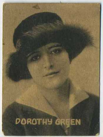 Dorothy Green - 1921 Henry Clay and Bock Tobacco Card