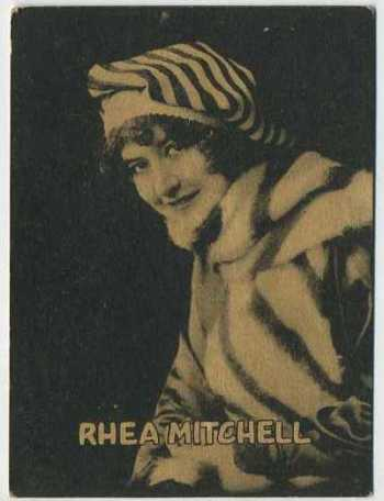 Rhea Mitchell - 1921 Henry Clay and Bock Tobacco Card