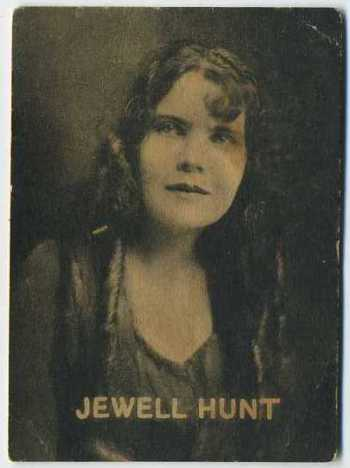 Jewell Hunt - 1921 Henry Clay and Bock Tobacco Card