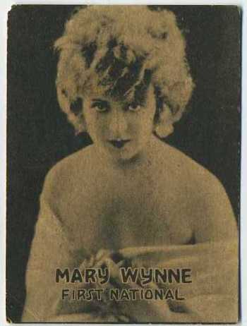Mary Wynne - 1921 Henry Clay and Bock Tobacco Card