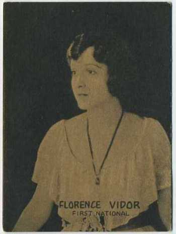 Florence Vidor - 1921 Henry Clay and Bock Tobacco Card
