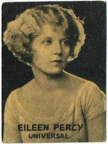 Eileen Percy - 1921 Henry Clay and Bock Tobacco Card