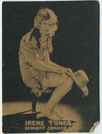 Irene Tyner - 1921 Henry Clay and Bock Tobacco Card