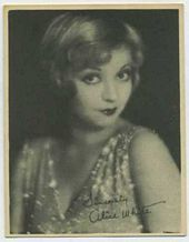 Alice White - 1920s Kashin Motion Pictures Star Movie Card