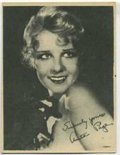 Anita Page - 1920s Kashin Motion Pictures Star Movie Card