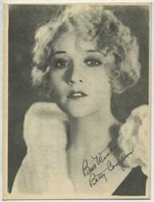 Betty Compson - 1920s Kashin Motion Pictures Star Movie Card