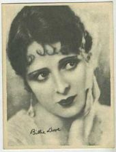 Billie Dove - 1920s Kashin Motion Picture Stars Movie Card