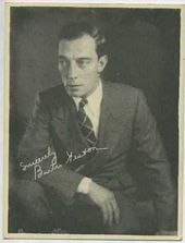 Buster Keaton - 1920s Kashin Motion Picture Stars Movie Card