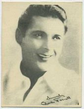 Charles Farrell - 1920s Kashin Motion Picture Stars Movie Card
