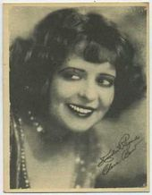 Clara Bow - 1920s Kashin Motion Pictures Star Movie Card