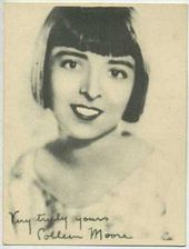 Colleen Moore - 1920s Kashin Motion Picture Stars Movie Card