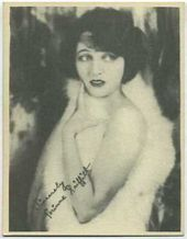 Corinne Griffith - 1920s Kashin Motion Pictures Star Movie Card