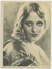 Dolores Costello - 1920s Kashin Motion Pictures Star Movie Card
