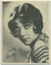 Dorothy Lee - 1920s Kashin Motion Picture Stars Movie Card