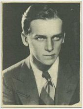 Douglas Fairbanks Jr - 1920s Kashin Motion Pictures Star Movie Card