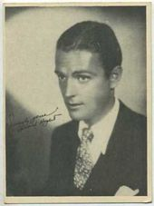 Edward Nugent - 1920s Kashin Motion Picture Stars Movie Card