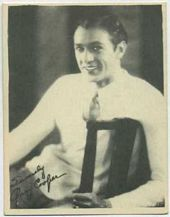 Gary Cooper - 1920s Kashin Motion Pictures Star Movie Card