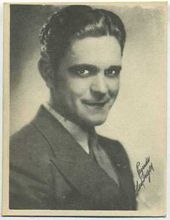Glenn Tryon - 1920s Kashin Motion Pictures Star Movie Card