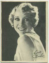 Gwen Lee - 1920s Kashin Motion Pictures Star Movie Card
