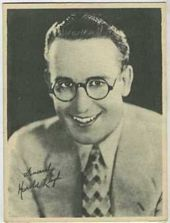 Harold Lloyd - 1920s Kashin Motion Picture Stars Movie Card