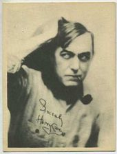 Harry Carey - 1920s Kashin Motion Pictures Star Movie Card