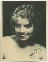 Helen Kaiser - 1920s Kashin Motion Pictures Star Movie Card