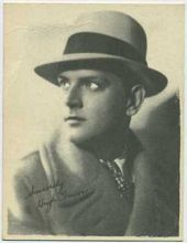 Hugh Trevor - 1920s Kashin Motion Picture Stars Movie Card