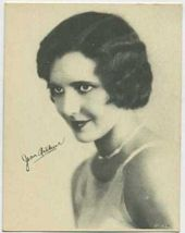 Jean Arthur - 1920s Kashin Motion Picture Stars Movie Card