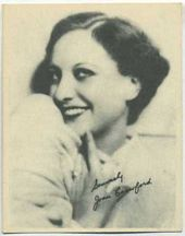 Joan Crawford - 1920s Kashin Motion Pictures Star Movie Card