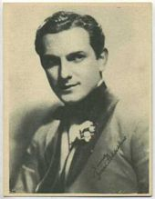 Joseph Schildkraut - 1920s Kashin Motion Pictures Star Movie Card