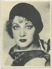 Josephine Dunn - 1920s Kashin Motion Pictures Star Movie Card