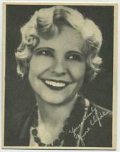 June Clyde - 1920s Kashin Motion Pictures Star Movie Card