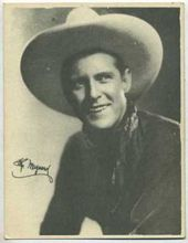 Ken Maynard - 1920s Kashin Motion Pictures Star Movie Card