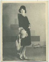 Leila Hyams - 1920s Kashin Motion Pictures Star Movie Card